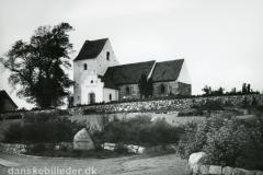 Hasle Kirke anno 1954