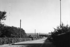 Haslevangsvej omkring Østrevej anno 1956
