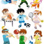 stock-vector-cartoon-sport-player-icon-set-77040478
